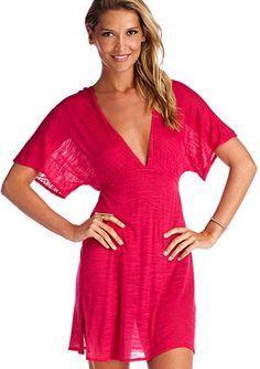 Vitamin A Serengeti Cassis New Paradise Plunge Tunic | Vitamin A Swimwear 2014 | Vitamin A Bikini// Coachella outfit ideas