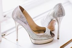 Metallic Silver Heels Shoes Bride Bridal Quirky Cool Summer Germany Wedding http://www.cornelia-lietz.com/en