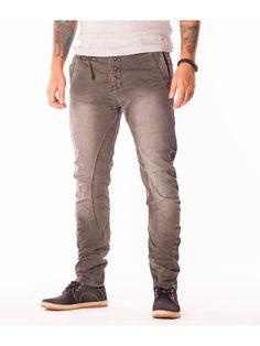Pantaloni pentru barbati Capa jeans gri