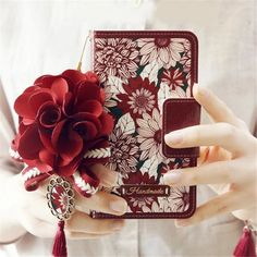 Vintage Sunflower Leather Wallet Case Cover For Samsung Galaxy S6 Edge S6edge+ S7 Edge Note 5 Flip Phone Cases with Chain   C93