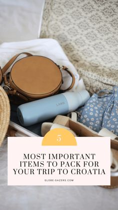 Croatia Packing List: 5 Summer Must-Haves Top Travel Destinations, Europe Travel Guide, Best Places To Travel, Travel Deals, Travel Guides, Summer Packing Lists, Packing Tips, Cute Cover Ups, Hotel Towels
