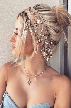 15 Ideas of Long Hair Updos for Your Next Glam Event ❤ Chignon Styles picture1 ❤ See more: http://lovehairstyles.com/long-hair-updos-styles/