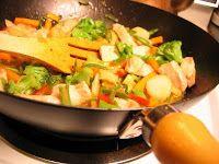 Low Salt Recipes for Meniere's Disease Sufferers: Low Salt Chicken Stir Fry