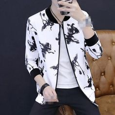 2018 new spring autumn men's Thin section Korean version slim youth fashion casual jacket cheap wholesale Blazer Outfits Men, Blazer Fashion, Camisa Gucci, Boys Kurta Design, Designer Suits For Men, Indian Men Fashion, Stylish Mens Fashion, Urban Outfits, Models