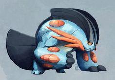 Mega Swampert. #Pokemon #alphasapphire #omegaruby