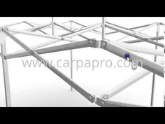 Estructura carpas plegables sistema CarpaPro™ Basic 3x6 m - www.carpapro...
