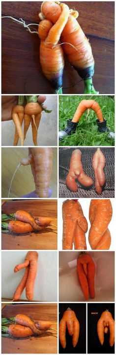 Frække gulerødder ;-)
