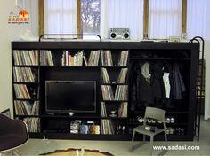 #casas LAS MEJORES CASAS DE MÉXICO. Le sugerimos colocar en su recámara un práctico cubo polifuncional, en el que podrá guardar desde ropa, libros, discos compactos y hasta su televisión. Además, la parte alta de este mueble es una práctica cama. En Grupo Sadasi, le invitamos a conocer nuestro desarrollo PRADO NORTE ubicado en Quintana Roo. www.pradonorte.com.mx