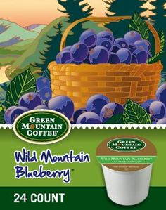 WILD MOUNTAIN BLUEBERRY COFFEE K CUP 120 COUNT ** You can find out more details at the link of the image.