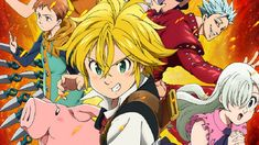 In Japanese Nanatsu no Taizai, is a manga series written by Nakaba Suzuki. The manga . Seven Deadly Sins Anime, 7 Deadly Sins, Best Anime On Netflix, Meliodas Vs, Manga Anime, Anime Art, Seven Knight, Grand Cross, Seven Deady Sins