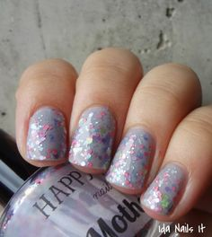 Motherboy (Glitter Topper) - Happy Hands Nail Polish.