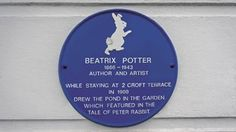 A Tenby holiday home used by Beatrix Potter is up for sale for Tales Of Beatrix Potter, Garden Drawing, Letter Board, Lettering, Reading, Holiday, Calligraphy, Vacations, Word Reading