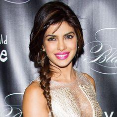 Get the look: Priyanka Chopra's undone side braid