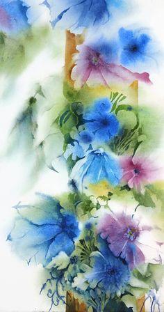 Watercolor Flower PrintWatercolor PaintingOriginal