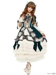 La robe de la Reine pour Midori