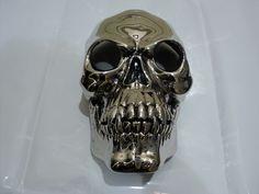 Nickel plated skull...