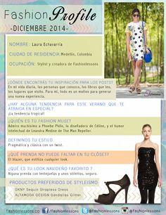 #FashionProfile de diciembre: Conocé más sobre @fashionlessons  la creadora de el #fashionlessons