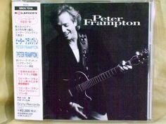 CD/Japan- PETER FRAMPTON s/t +1 bonus trx w/OBI RARE 1994 Steve Marriott #BluesRockFolkCountryRock