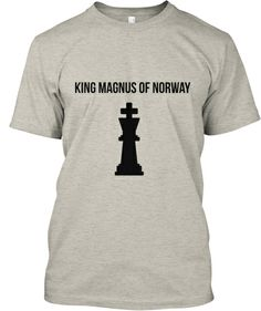Magnus Carlsen Chess King Limited Tshirt | Teespring