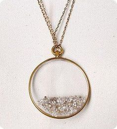 diamond shaker necklace...love!