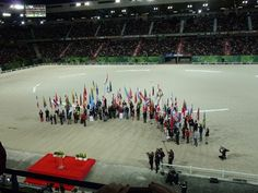 The WEG Opening Ceremony from the Press Box - TheHorse.com | Our international reporter offers a look into the best moments of the 2014 World Equestrian Games' opening ceremony. #WEG2014 #horses