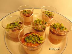 Mousse, Starters, Finger Foods, Guacamole, Holiday Recipes, Catering, Buffet, Mango, Brunch