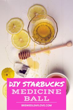 This copycat Starbucks medicine ball tea recipe tastes just like the real thing but you can make it at home.  Find out the secret ingredients that make this cold busting drink a favorite. Starbucks Drink Menu, Starbucks Secret Menu, Bike Workouts, Swimming Workouts, Swimming Tips, Cycling Workout, Hot Tea Recipes, Tea Organization, Honey Lemonade