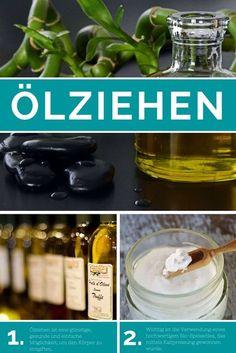 Warum Ölziehen eine der effektivsten und gesündesten Methoden zur Entgiftung ist. Mehr zur Wirksamkeit und Tipps inklusive einfacher Anleitung. #Ölziehen #Öl #Kokosöl #Olivenöl #Entgiftung #Detox