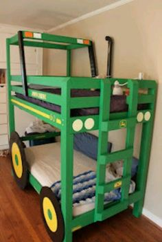 Who wants to make me these awesome bunkbeds for boys?!??