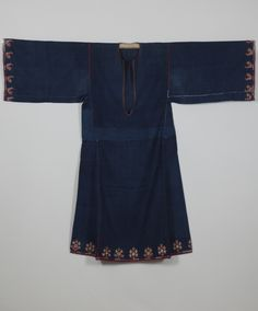 Image from object titled 'Chemise' Greek Traditional Dress, Greece Art, Fashion Project, Folk Costume, Pli, Apparel Design, Floral Embroidery, Bell Sleeve Top, Greek Costumes
