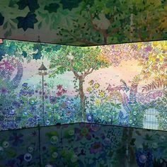 «Encantada!!!! O colorido mais os recursos deixam a imagem super linda! @Regrann from @omgjasmineomg - Secret Bubbles . #秘密花园 #jardinsecret #coloring #art…»