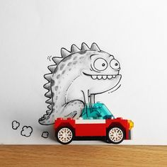 When Manik n Ratan's Toon Characters Meet Real World, it's Awesomely fun! l #doodle #drawing