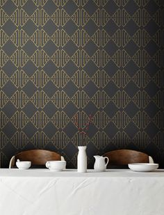 Tyles vinyl decal backsplash and wall decor product in Metro pattern. Great for kitchens, bathrooms, or any wall in your home or business.
