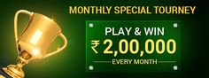 Massive Cash Prize of Rs. 2,00,000 Rewarded Every Month! 150 contestants 50 WINNERS on 19th JULY, 2015 @ 3:00 PM  know more @ https://www.classicrummy.com/monthly-special-tourney?link_name=CR-12  #rummy #onlinerummy #tourney #tournaments #cashprizes #rummytournaments #rummytourney #freetrourney