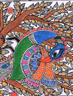 Image result for The Colorful Masterpieces of Madhubani, Bihar
