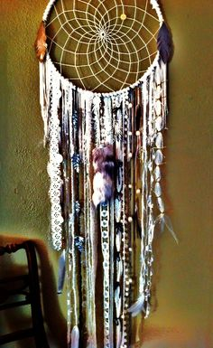 dream catcher! Being of Indian decent I always had these around as a kid, need to get one for my house!