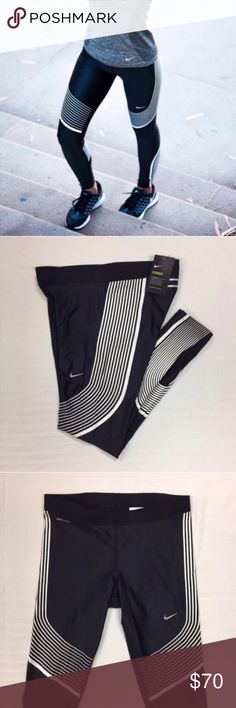 Women's Nike Power Speed Running Tights Leggings Women's Nike Power Speed Running Tights Leggings Style/Color: 719784-016  • Women's size XL  • NEW with tags • No trades •100% authentic Nike Pants Leggings