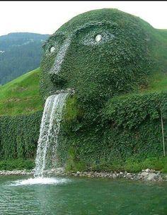 Swarvoski kristallwaters- wattens, Austria