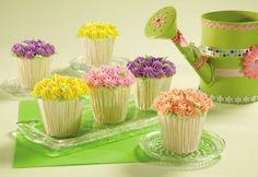 April Showers Bring May Cupcake Flowers - All Things Cupcake