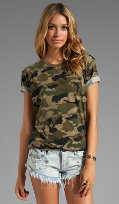 Lovers + Friends for REVOLVE Relaxed Tee in Camo | REVOLVE