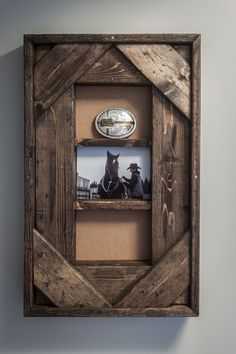 Belt Buckle and Photo Display by Hercio Dias
