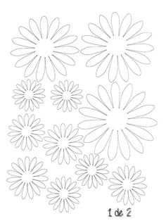 MediaFire is a simple to use free service that lets you put all your photos, documents, music, and video in a single place so you can access them anywhere and share them everywhere. Paper Flowers Craft, Giant Paper Flowers, Flower Crafts, Diy Flowers, Fabric Flowers, Felt Flower Template, Felt Flower Tutorial, Pach Aplique, Felt Flowers Patterns