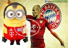 robben of minion