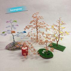 나무 모음 #철사공예 #와이어아트 #와이어공예 #WireArt #WireCrafts #ワイヤーアート #針金細工 #はりがねさいく #Wiretree #WireWood #树 #에나멜선 #漆包线 #EnamelWire #エナメルワイヤ