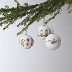 Elsa Beskow Christmas tree ornaments 3-pack - Set No. 3 - Design House Stockholm