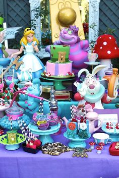 Amazing Alice in Wonderland birthday party! See more party planning ideas at CatchMyParty.com!