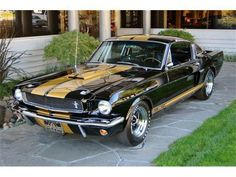 Shelby Mustang GT 1966.
