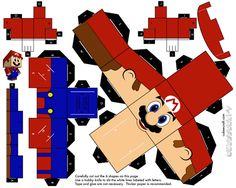 Olha aí gente... postei alguns modelos de papercraft para baixar, imprimir, recortar, montar e colar. Dica: imprimir em sulfite gramatura...