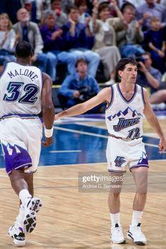 Basketball Legends, Nba Basketball, John Stockton, Karl Malone, Utah Jazz, Sports, Hs Sports, Sport