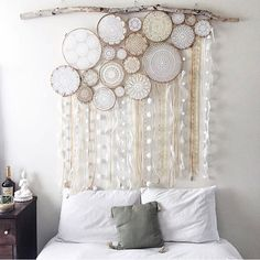 In love with these crochet designs! Create your own Dreamcatchers with Dreamcatcher Collective Kits. See bio for Ebay link ✨✨✨✨✨✨✨✨✨✨✨ @lucidfem